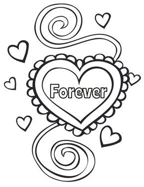 290x375 Wedding Ring Coloring Pages