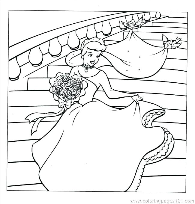 650x681 Marriage Coloring Pages Marriage Coloring Page Wedding