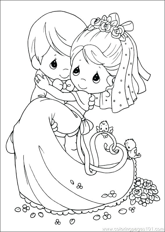 567x794 Wedding Themed Coloring Pages Medium Size Of Free Wedding Coloring