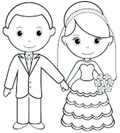 400x443 Coloring Pages For Weddings Wedding Activity Book Coloring Kids