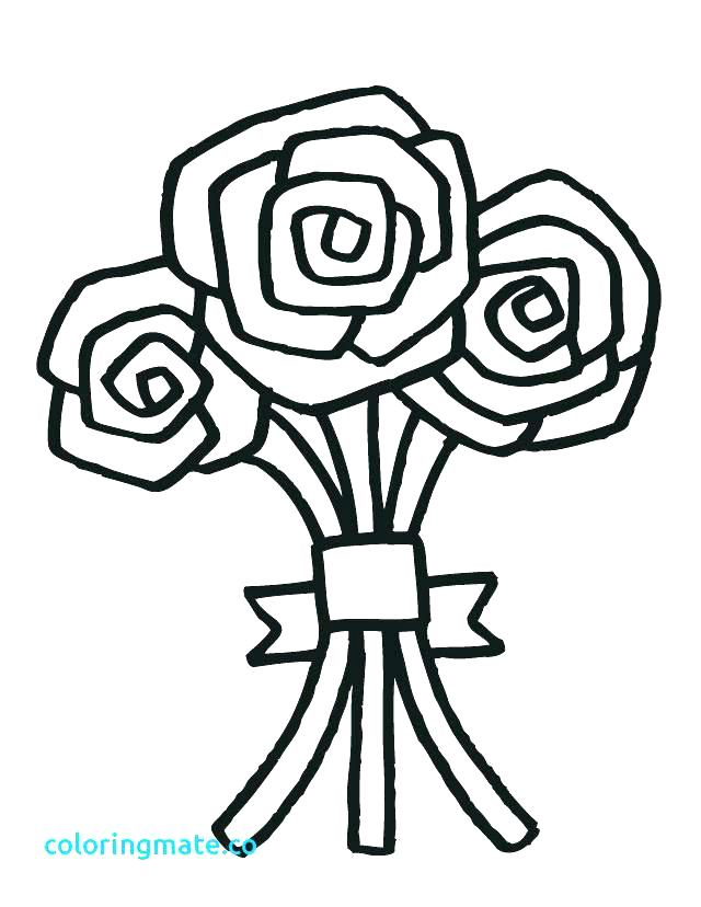 640x828 Printable Wedding Coloring Pages