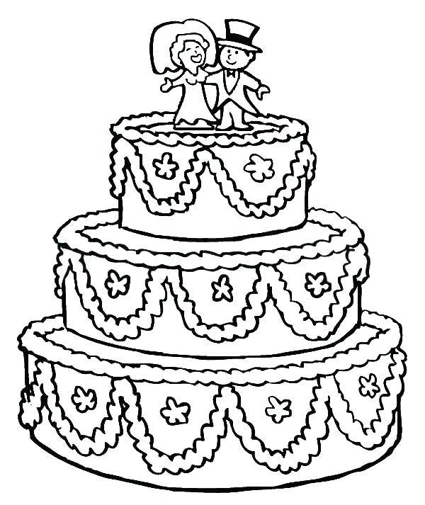 600x713 Wedding Coloring Pages