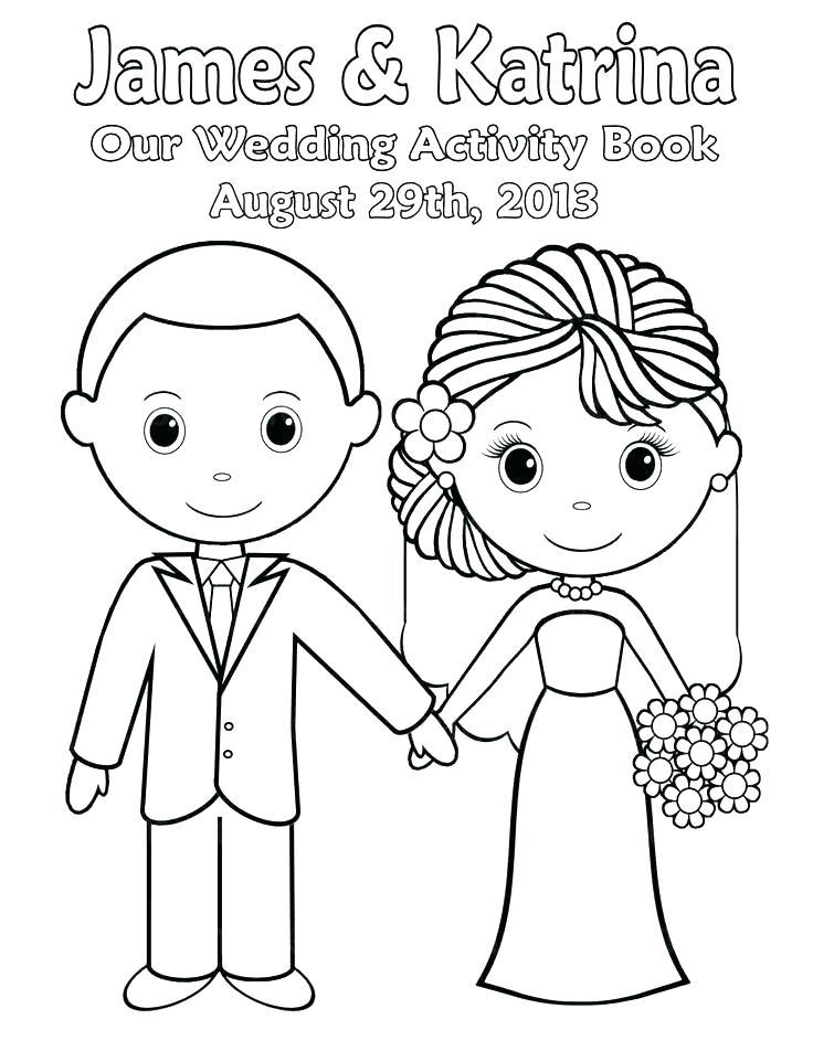 736x952 Wedding Coloring Sheets