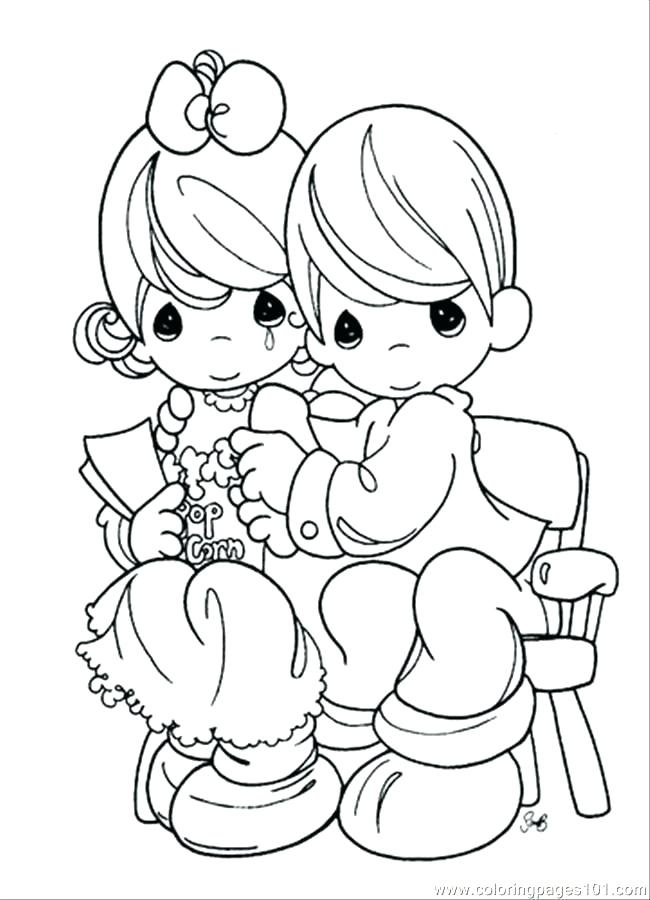 650x900 Free Printable Precious Moments Coloring Pages Free Printable Free
