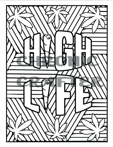 474x616 Free Printable Marijuana Coloring Pages Best Images On Colouring