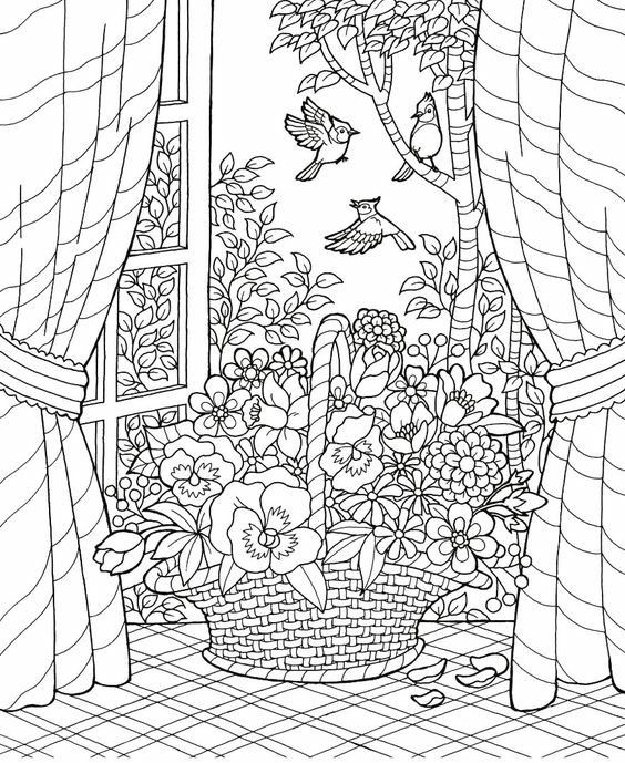 Weeping Willow Coloring Pages