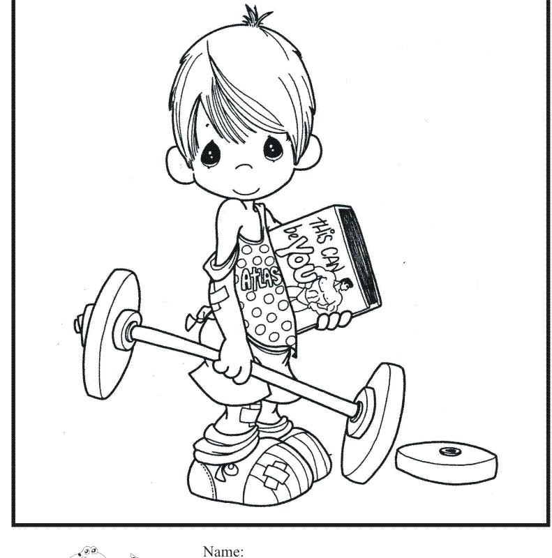 791x800 Fitness Coloring Pages Free Coloring Pages Working On Belly