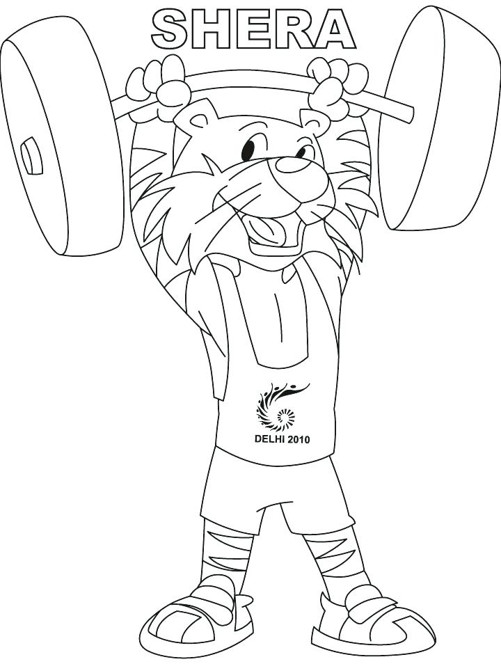 720x954 She Ra Coloring Pages Lovely Print Weightlifting Page Download