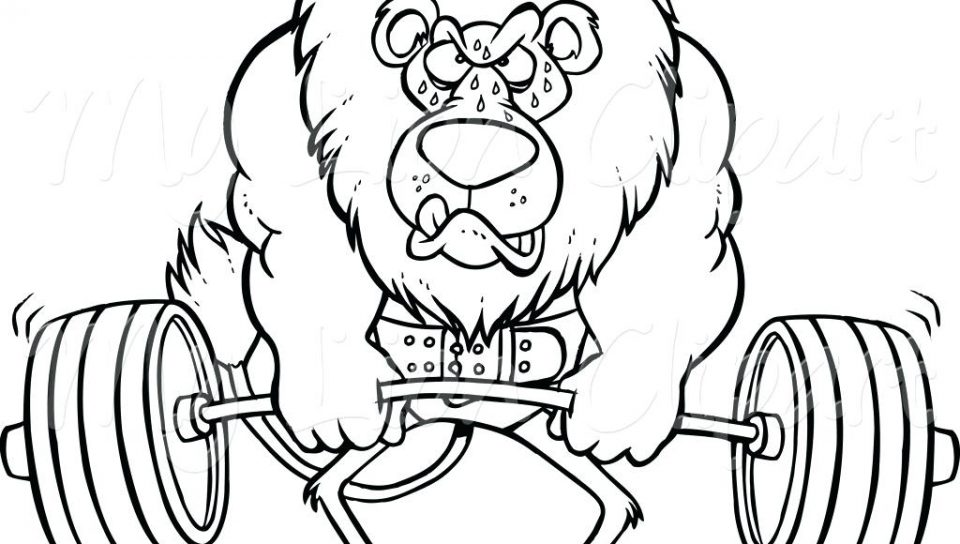 960x544 Weight Training Workout Coloringage Dreaded Weightliftingages