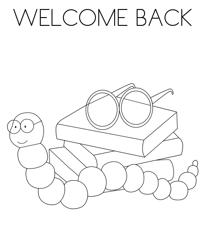 684x792 Unique Welcome Back Coloring Pages On Coloring Print