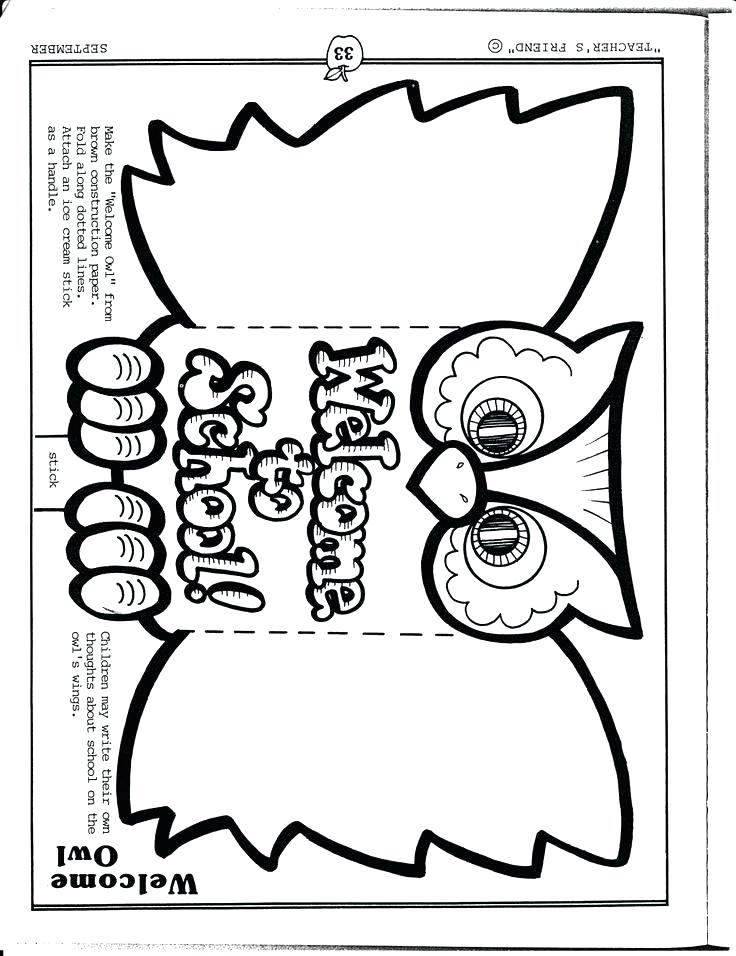 736x956 Welcome Back To School Coloring Pages Back To School Worksheets