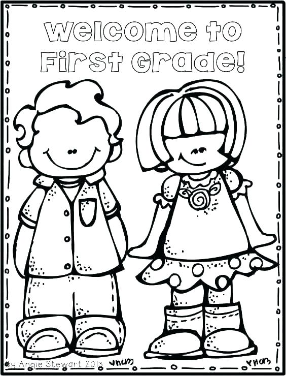 564x740 Welcome To School Coloring Page Welcome Back To School Coloring