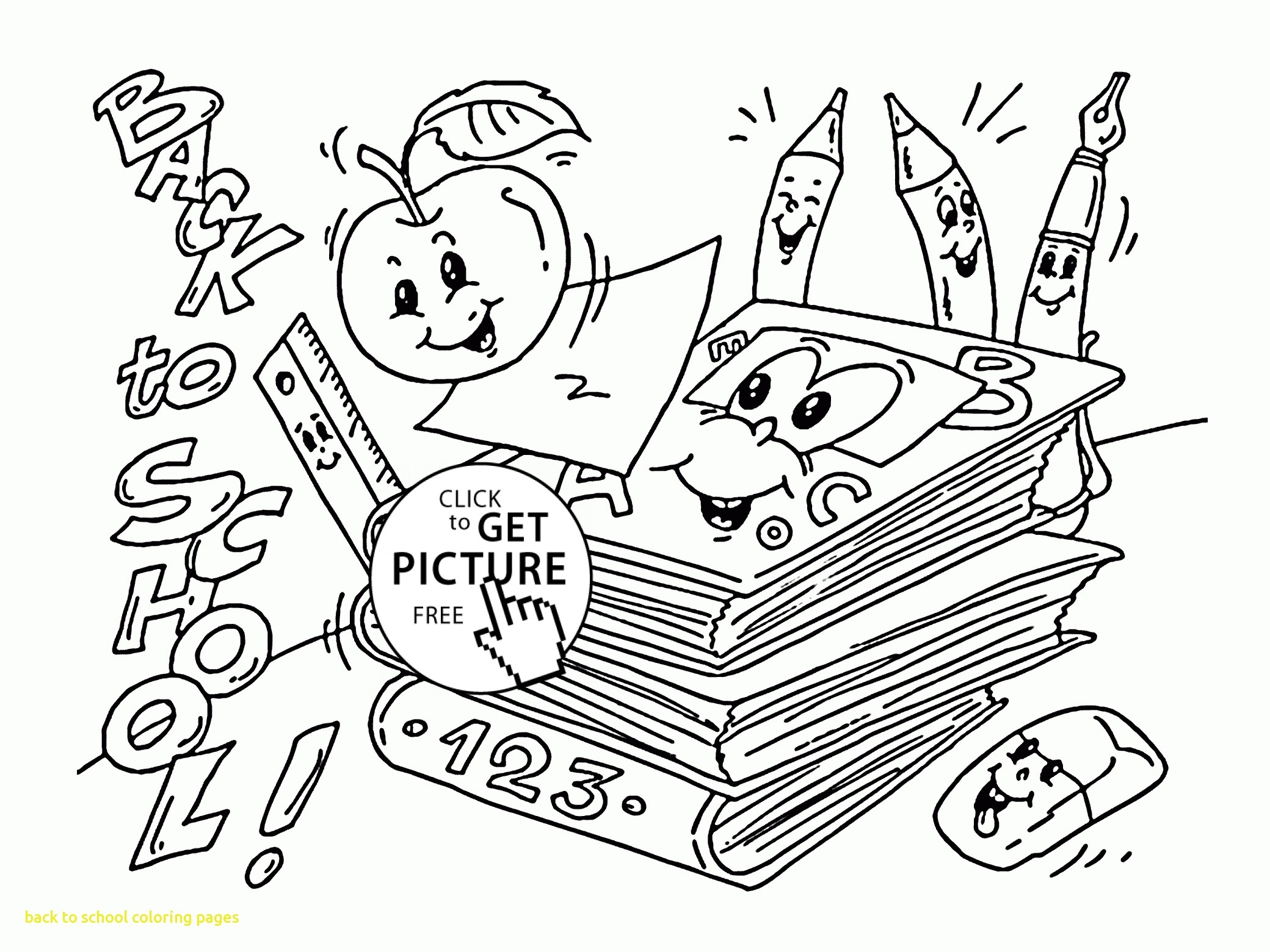 2080x1561 Back To School Coloring Pages With Preschool Coloring Pages