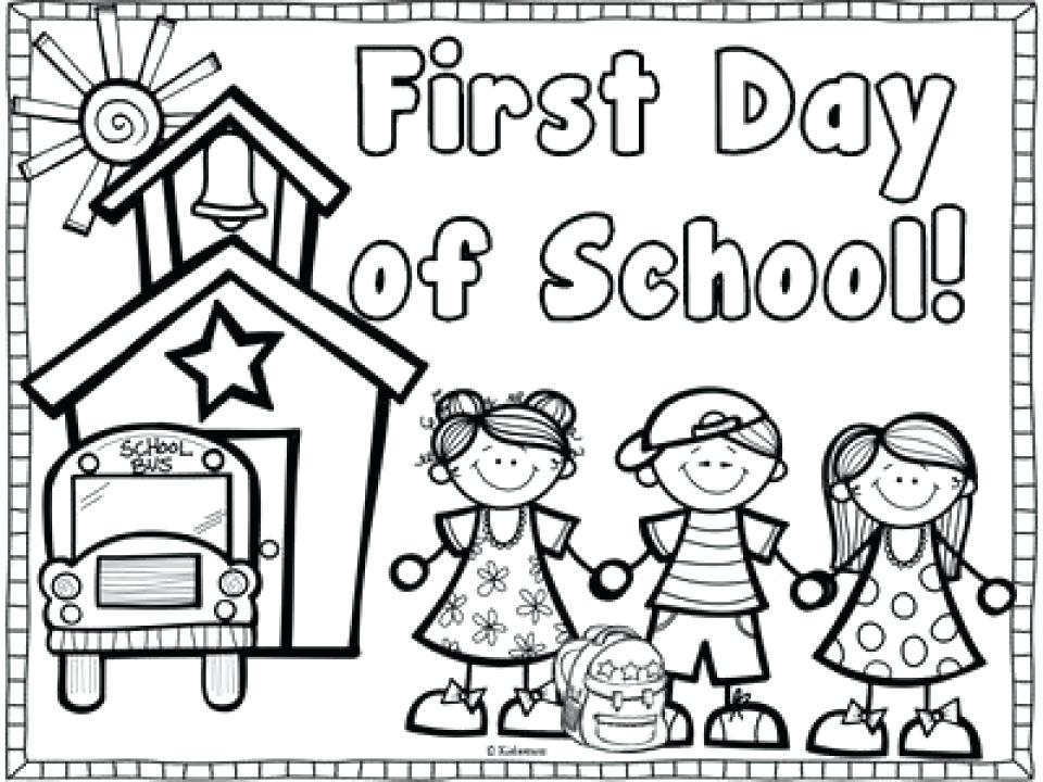 Welcome Back To School Coloring Pages At Getdrawings Free Download