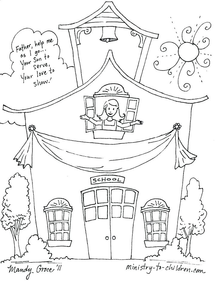 Welcome Back To School Coloring Pages At Getdrawings Com Free For