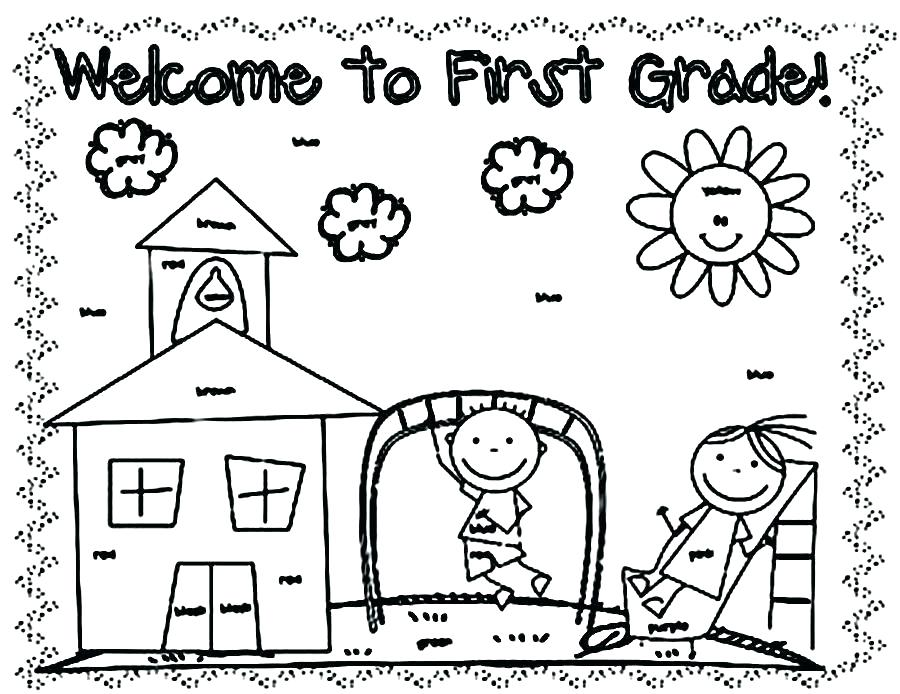 900x694 School Coloring Pages Printable School Coloring Pages To Print