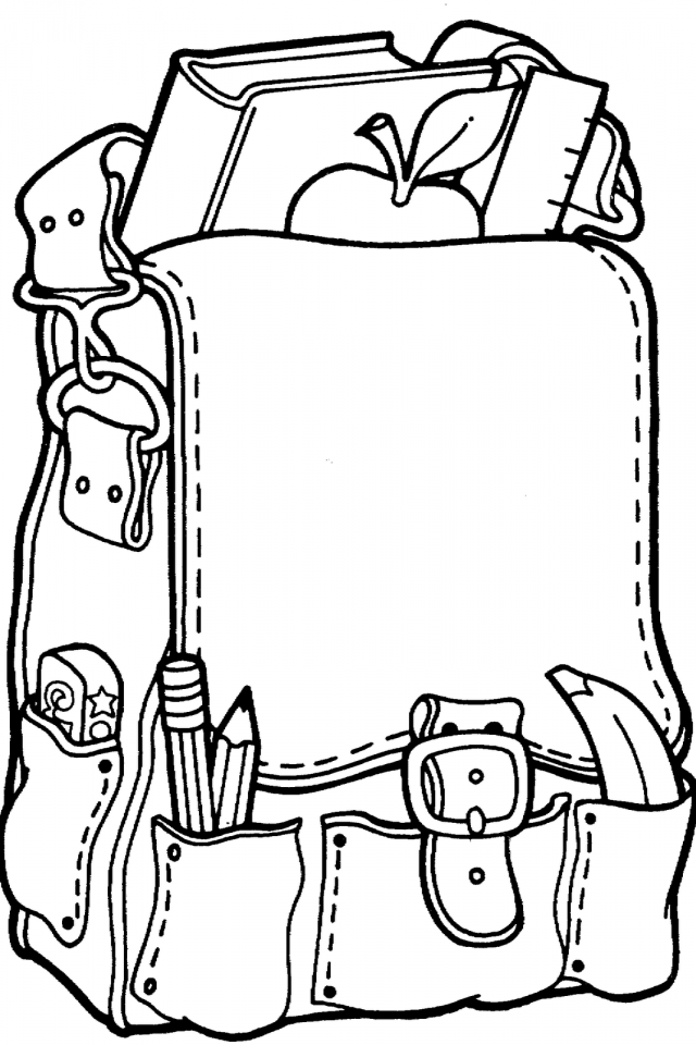 Welcome Back To School Coloring Pages at GetDrawings ...
