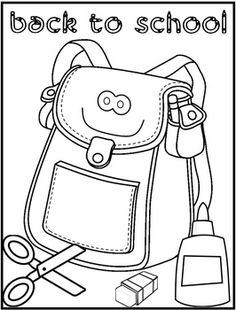 236x310 Back School Coloring Sheets For Preschool H Spectacular Back