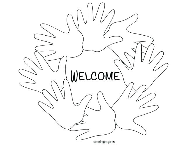 671x497 Welcome Coloring Pages Free School Coloring Pages Print Back