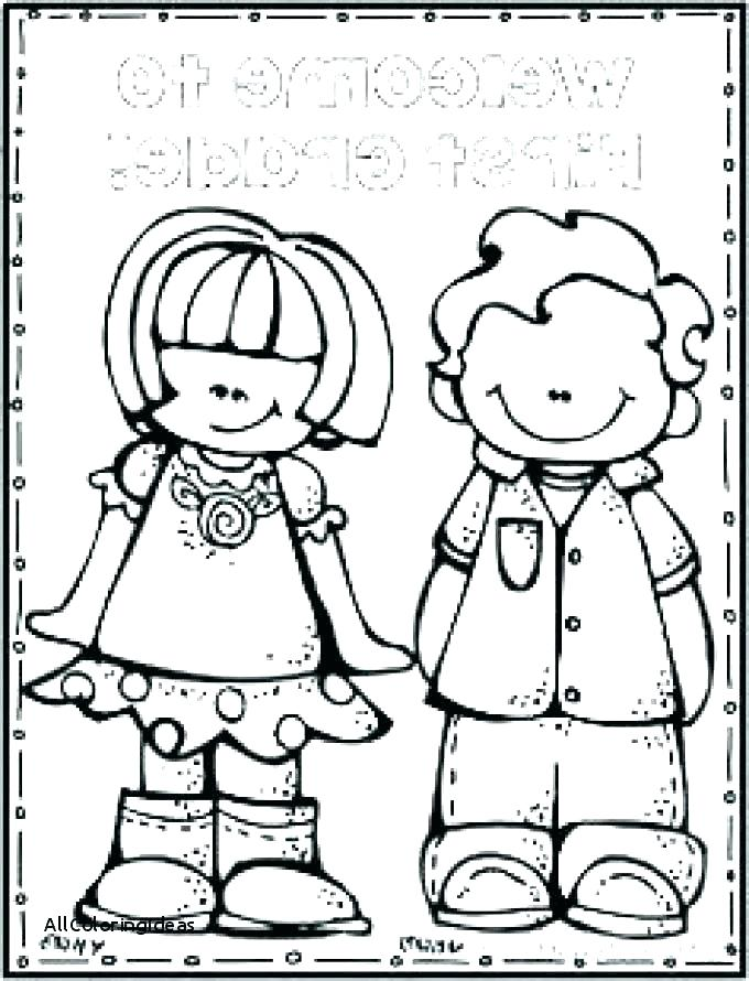 680x890 Welcome Back Coloring Pages