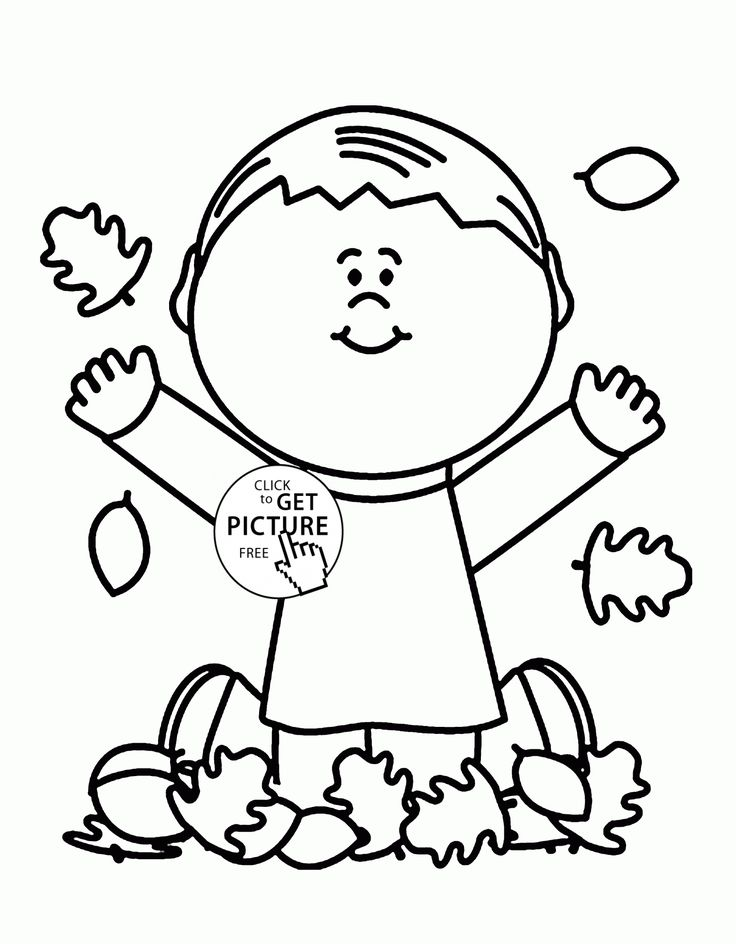 Welcome Fall Coloring Pages
