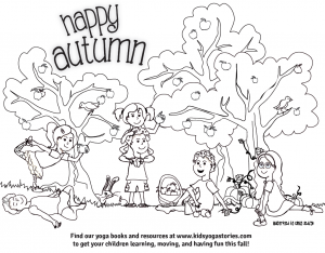 300x234 Coloring Pages For Kids Kids Yoga Stories