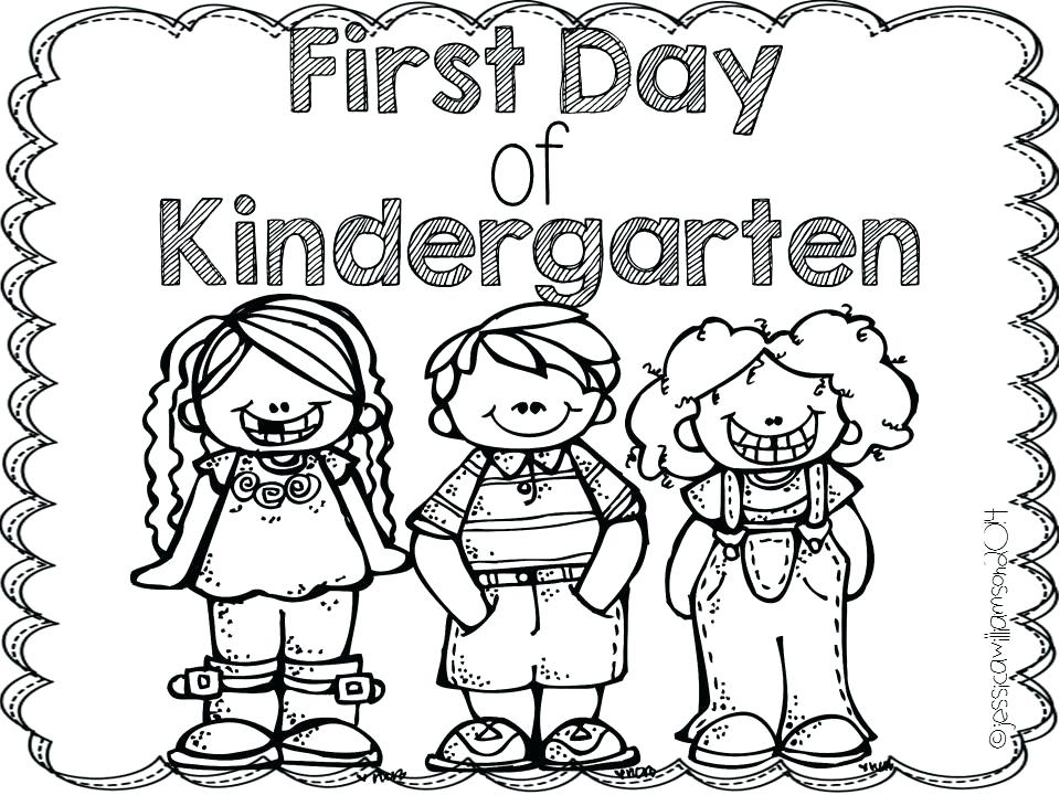 960x720 Kinder Coloring Pages Welcome To Kindergarten Coloring Page Fresh