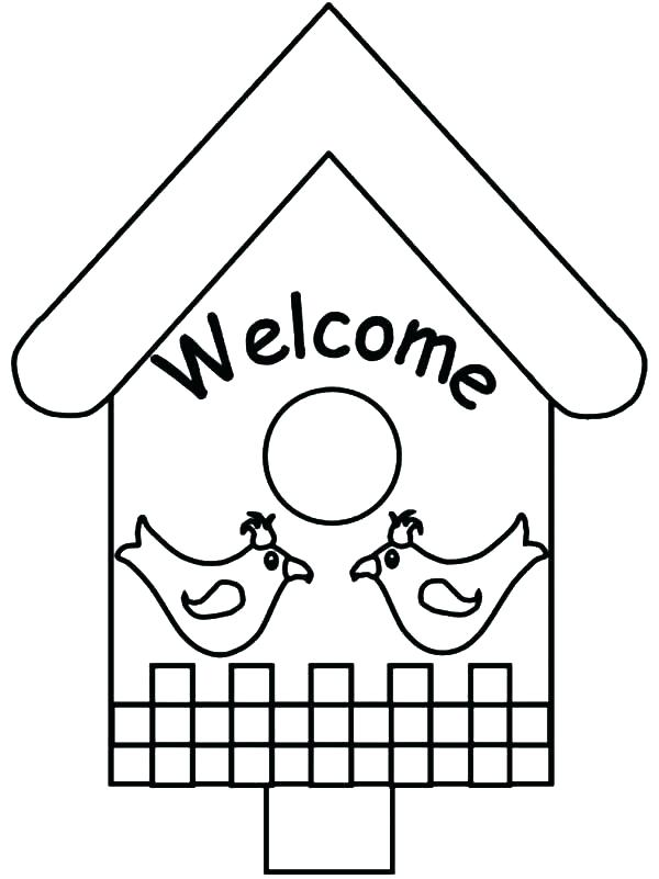 600x801 Welcome Coloring Page Welcome Coloring Page Crayon Pages Back