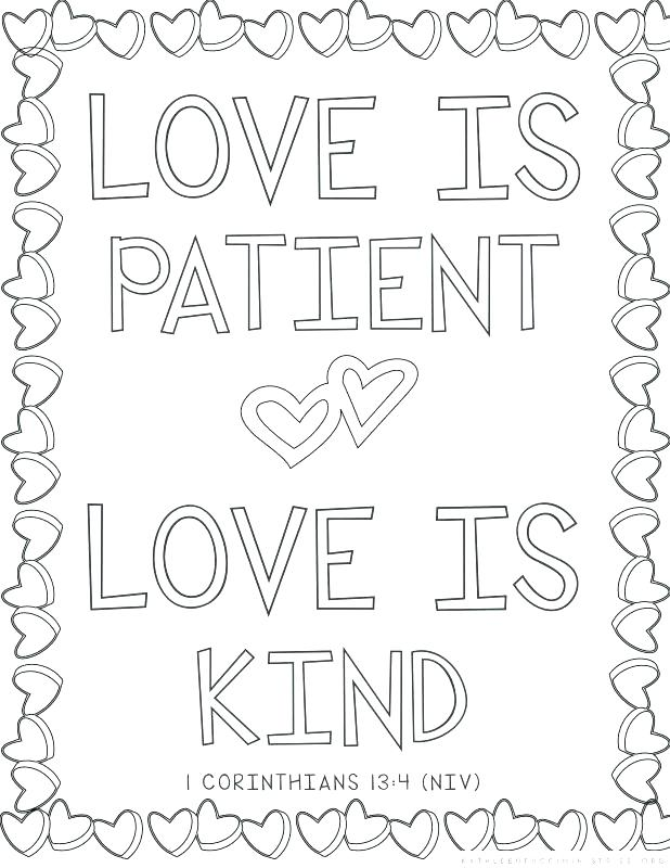 618x800 Christian Coloring Pages With Verses