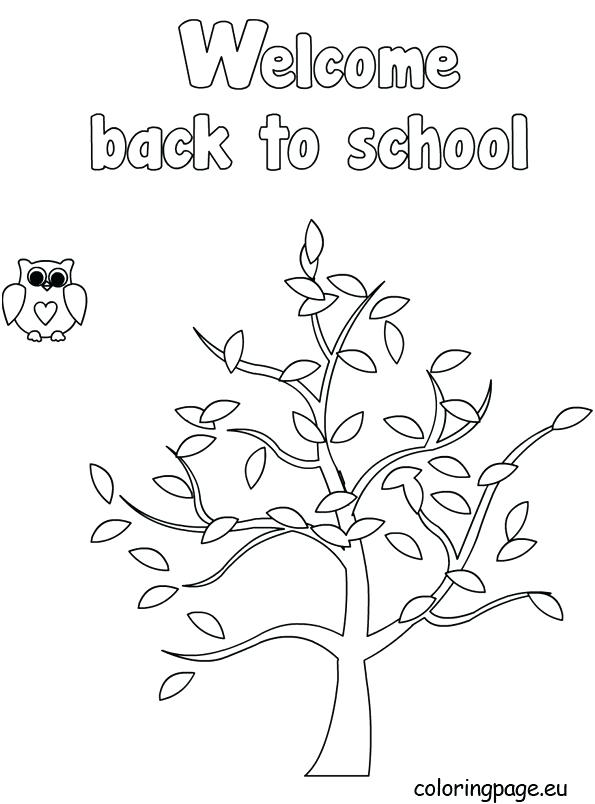 595x804 Welcome Back Coloring Pages Welcome Coloring Sheet Home Coloring
