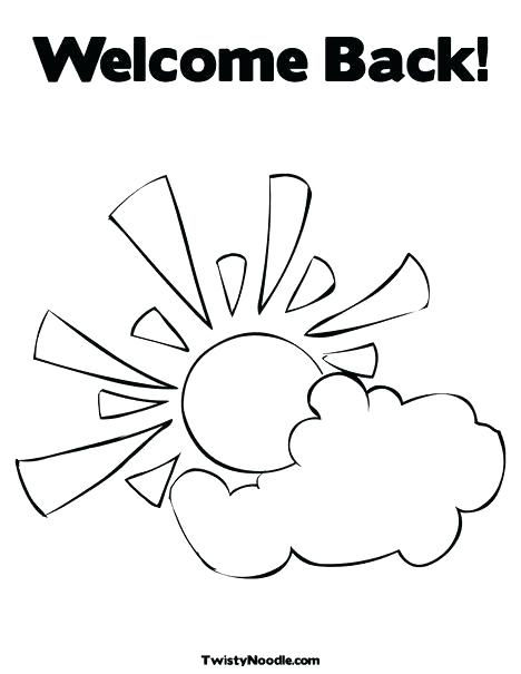 468x605 Welcome Coloring Page Welcome Coloring Page Welcome Home Coloring