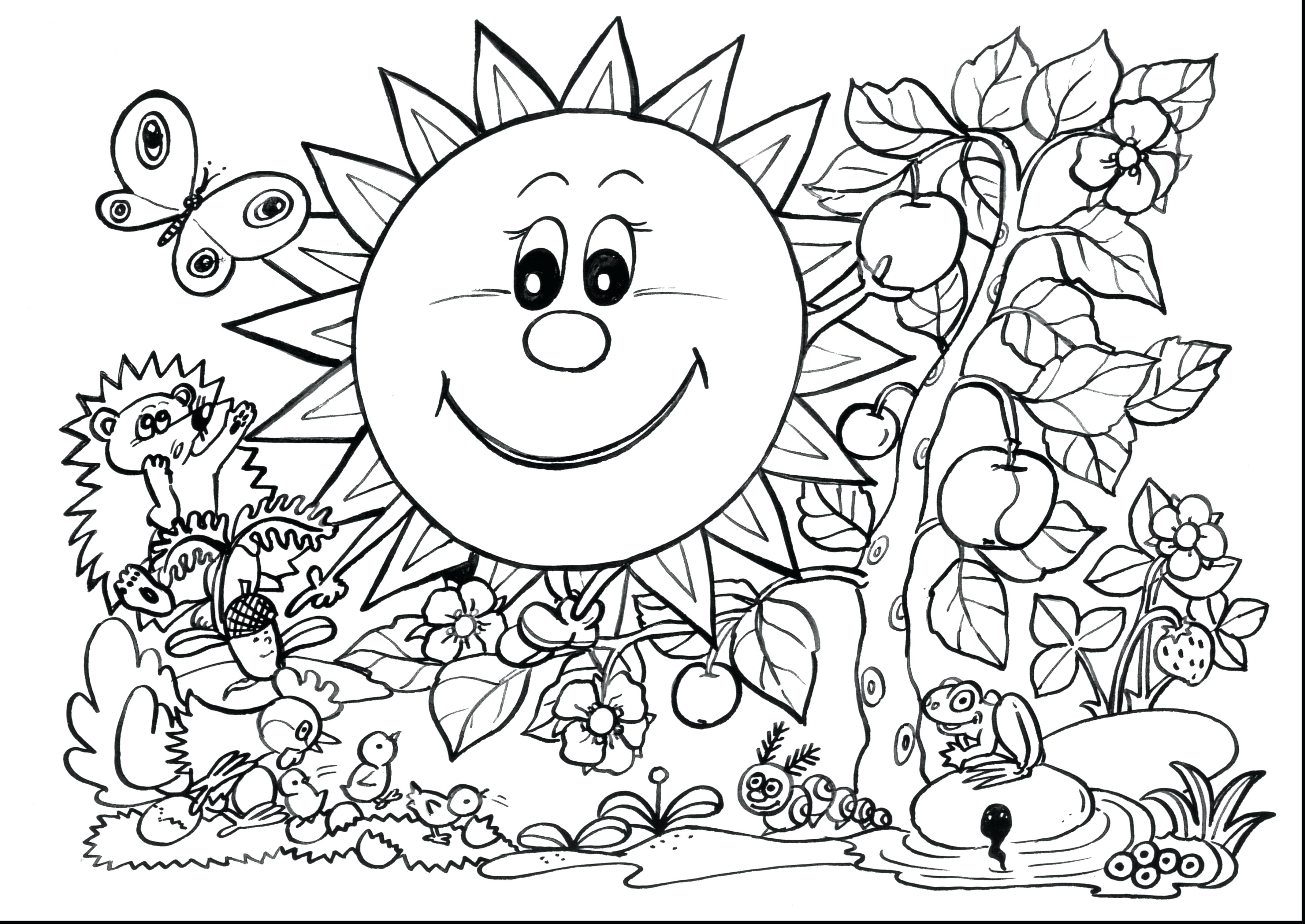 3858x2732 Coloring Page First Grade Coloring Pages Remarkable Adult Spring