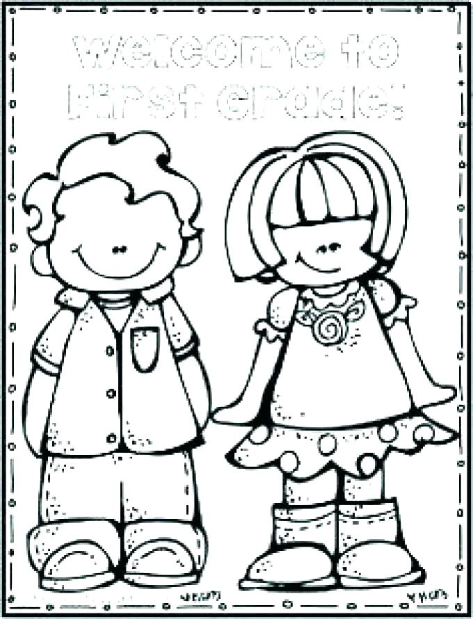 680x890 Math Coloring Pages Grade