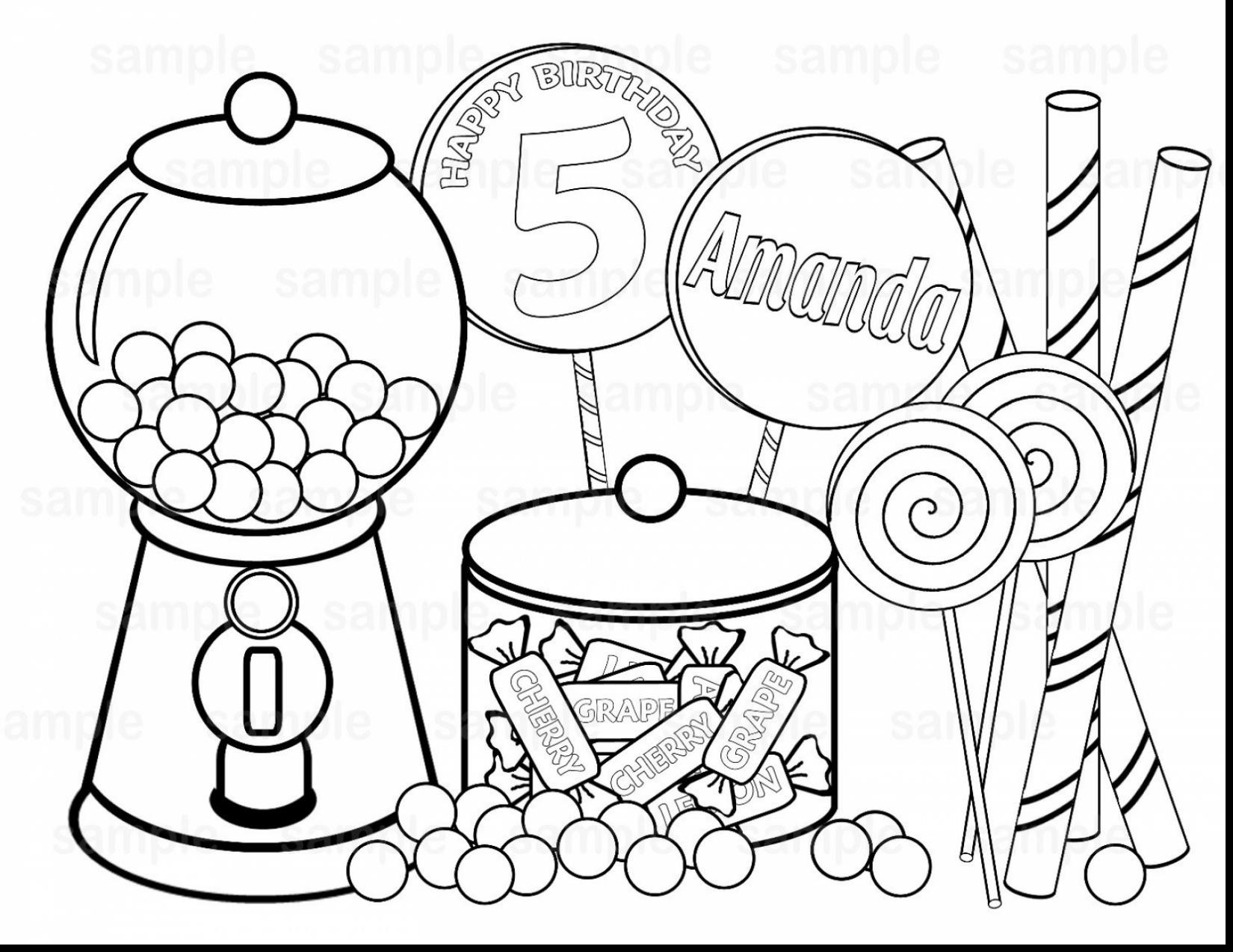 1650x1274 Printable Candyland Coloring Pages Endearing Enchanting