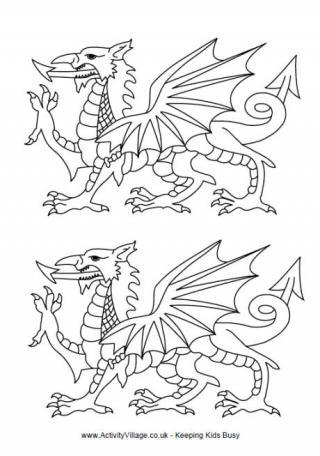 320x456 Welsh Dragon Templates Draco Welsh Dragon, Welsh
