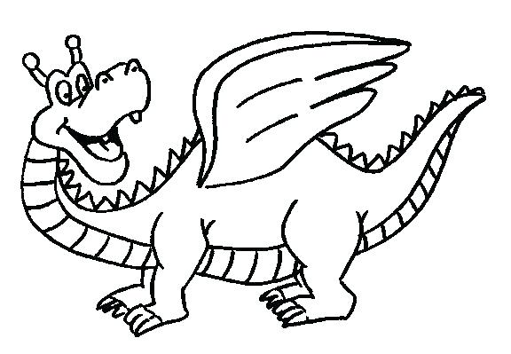 576x399 Dragon Coloring Page Printable Dragon Coloring Pages Dragon