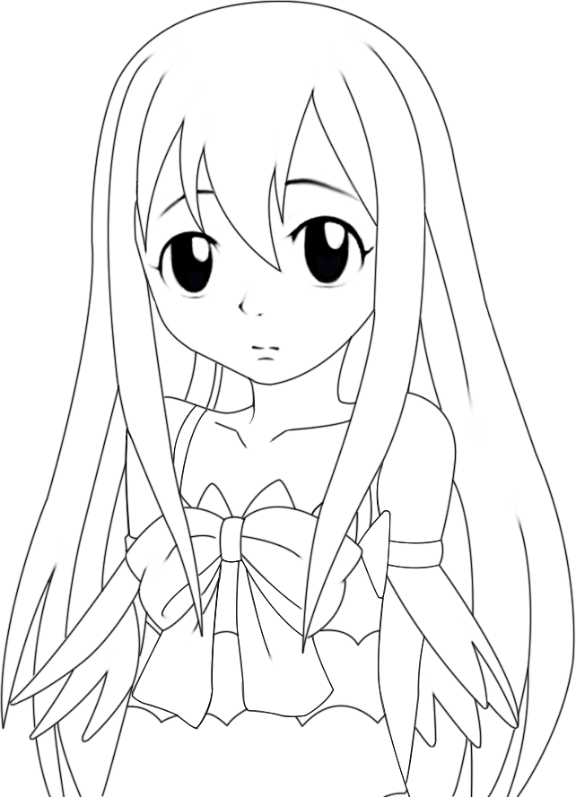 642x889 Fairy Tail Wendy Coloring Pages