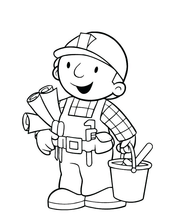 595x770 Bob The Builder Coloring Pages Bob The Builder Coloring Pages Free