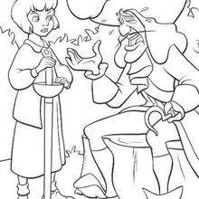 220x220 Peter Pan Coloring Pages