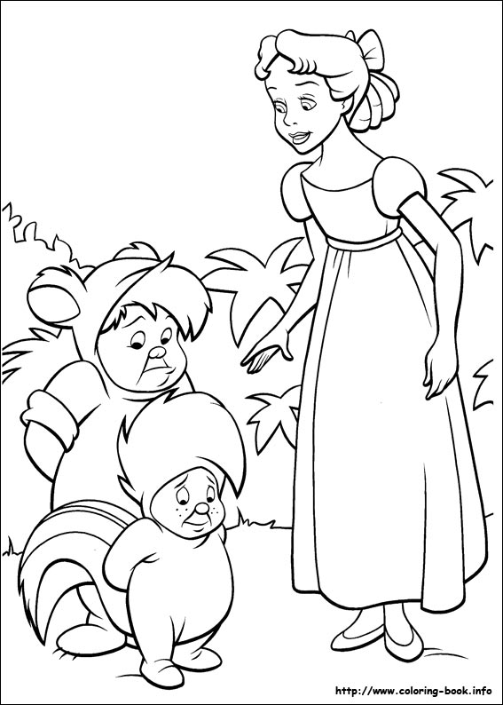 567x794 Peter Pan Coloring Pages On Coloring