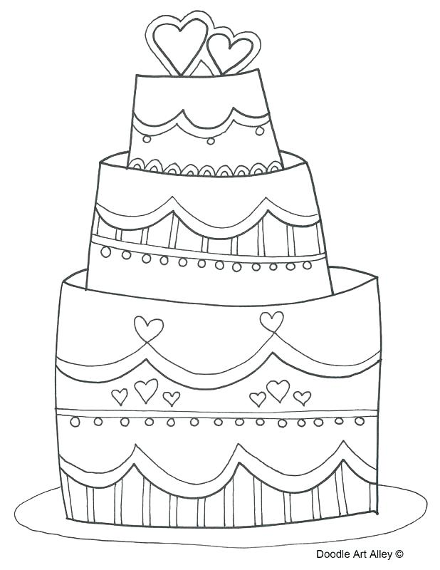 618x800 Wedding Cake Coloring Pages Wedding Coloring Pages Wedding Cake