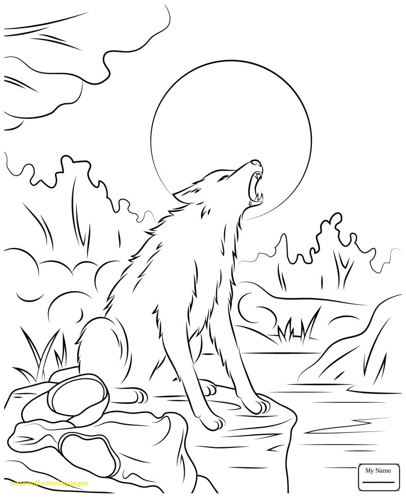 836x1024 Incredible Coloringages Werewolves Werewolf With Freerintable