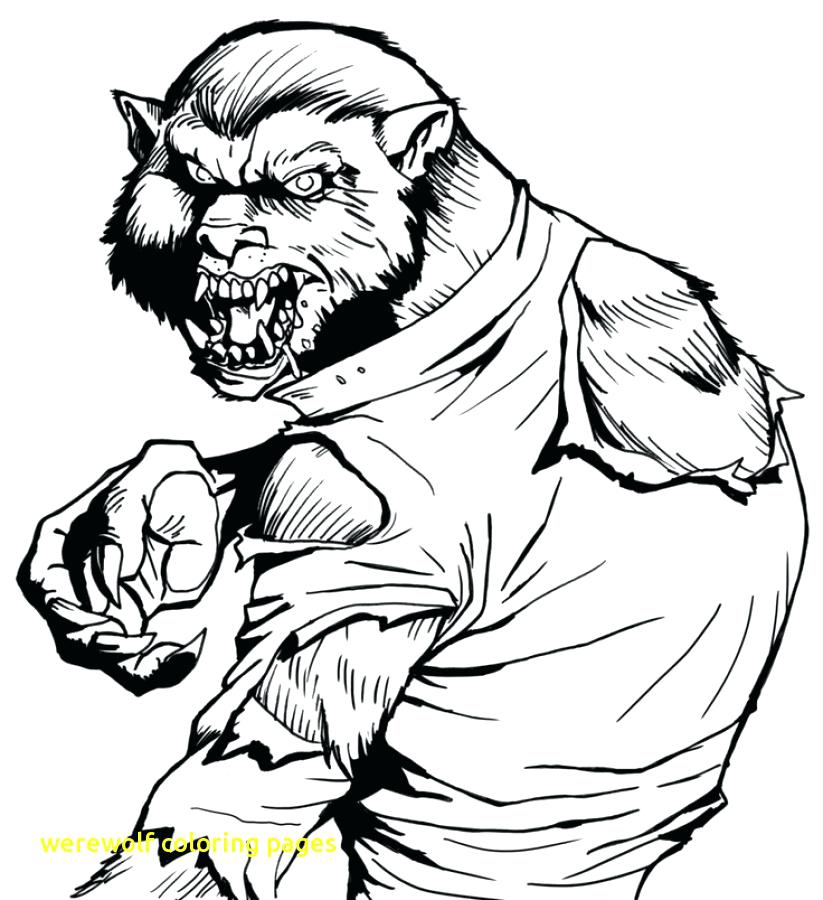 823x900 Lego Werewolf Coloring Pages Strong Werewolf Coloring Page Strong