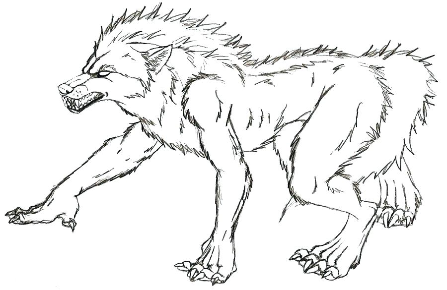 900x585 Werewolf Coloring Pages X Werewolf Mask Coloring Pages