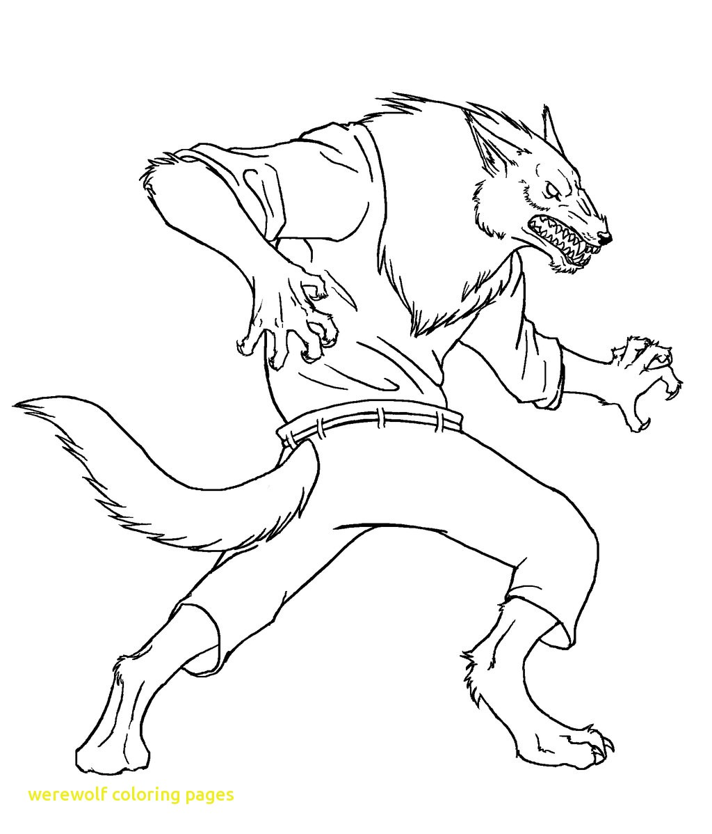 1024x1198 Werewolf Coloring Pages With Werewolf Coloring Pages For Kids