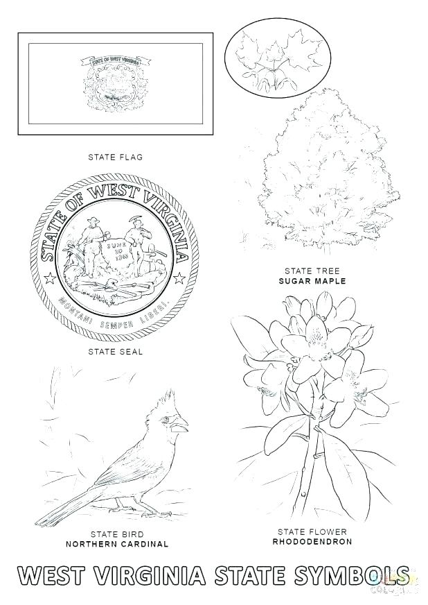 West Virginia Coloring Pages