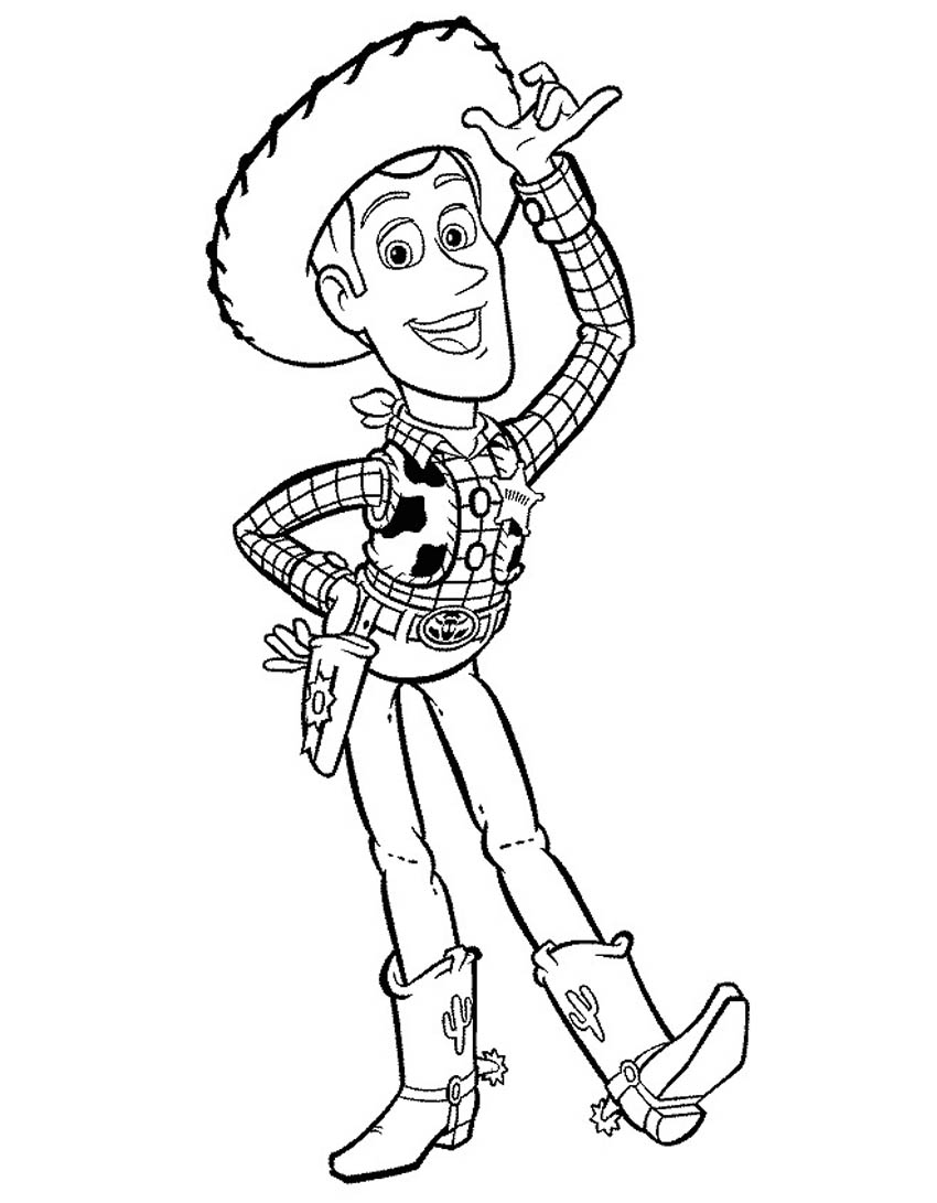850x1091 Top Western Coloring Sheets Cowboy Pages For K