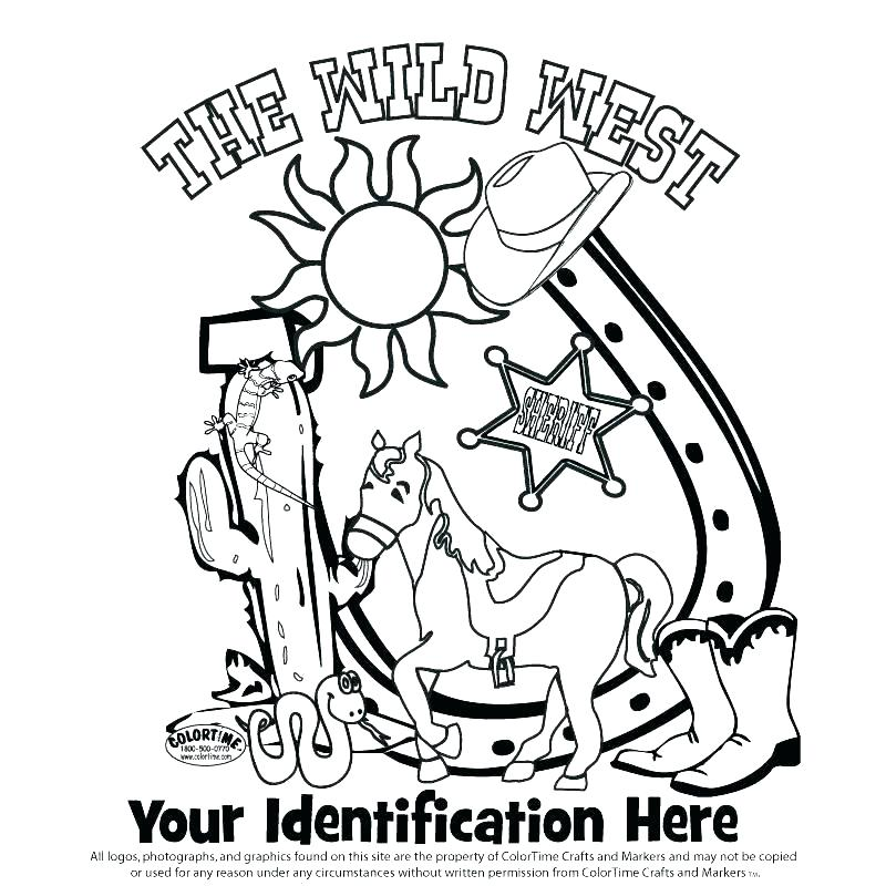 800x800 Cowboy Boot Coloring Page Complete Western Coloring Pages Kids