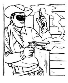Western Coloring Pages For Adults