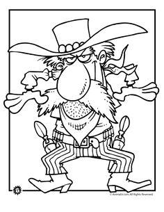 236x305 Far West Coloring Page Preschool Western Wild West
